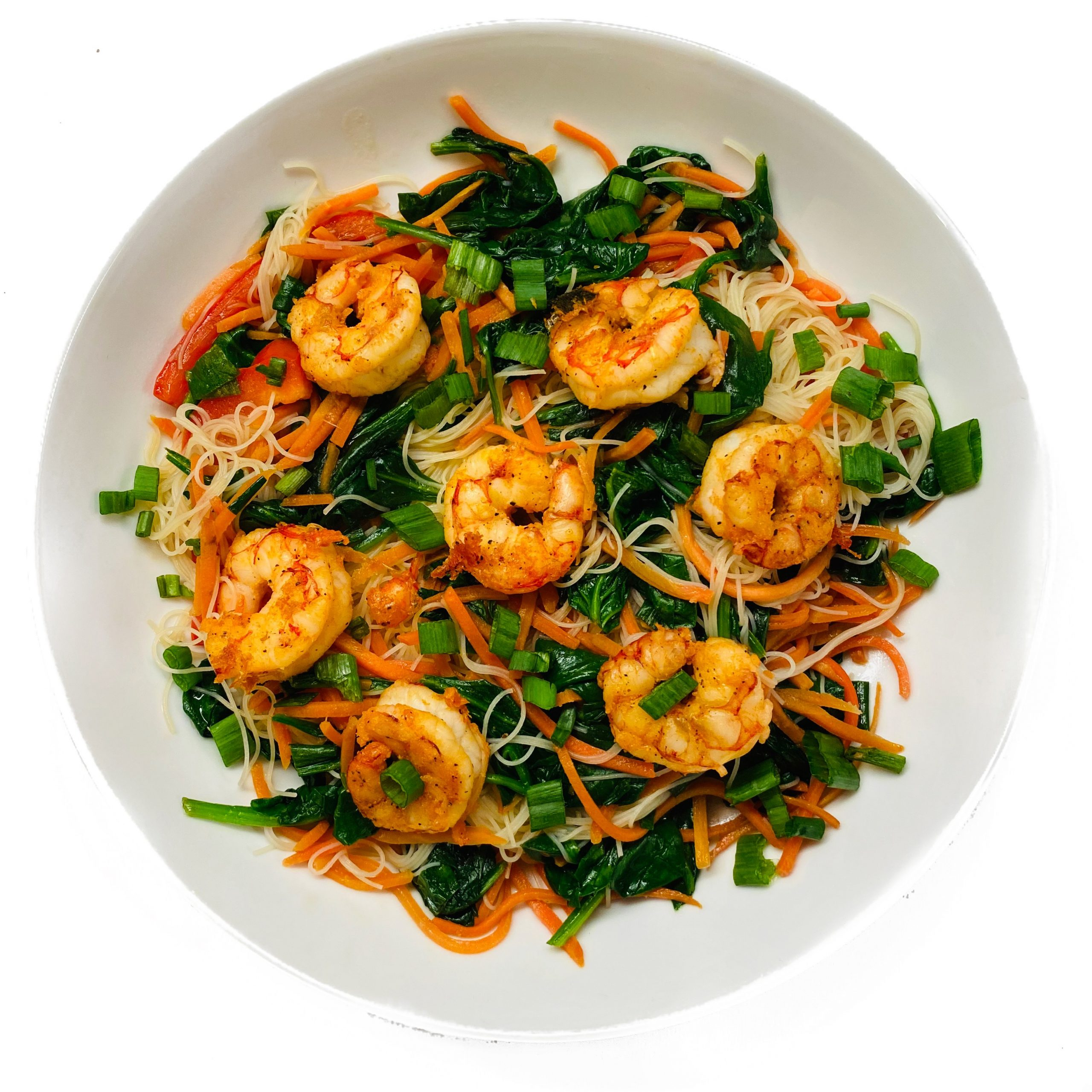Healthy Shrimp Stir Fry