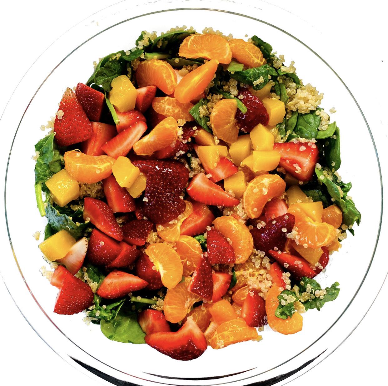 Rainbow Immunity Salad