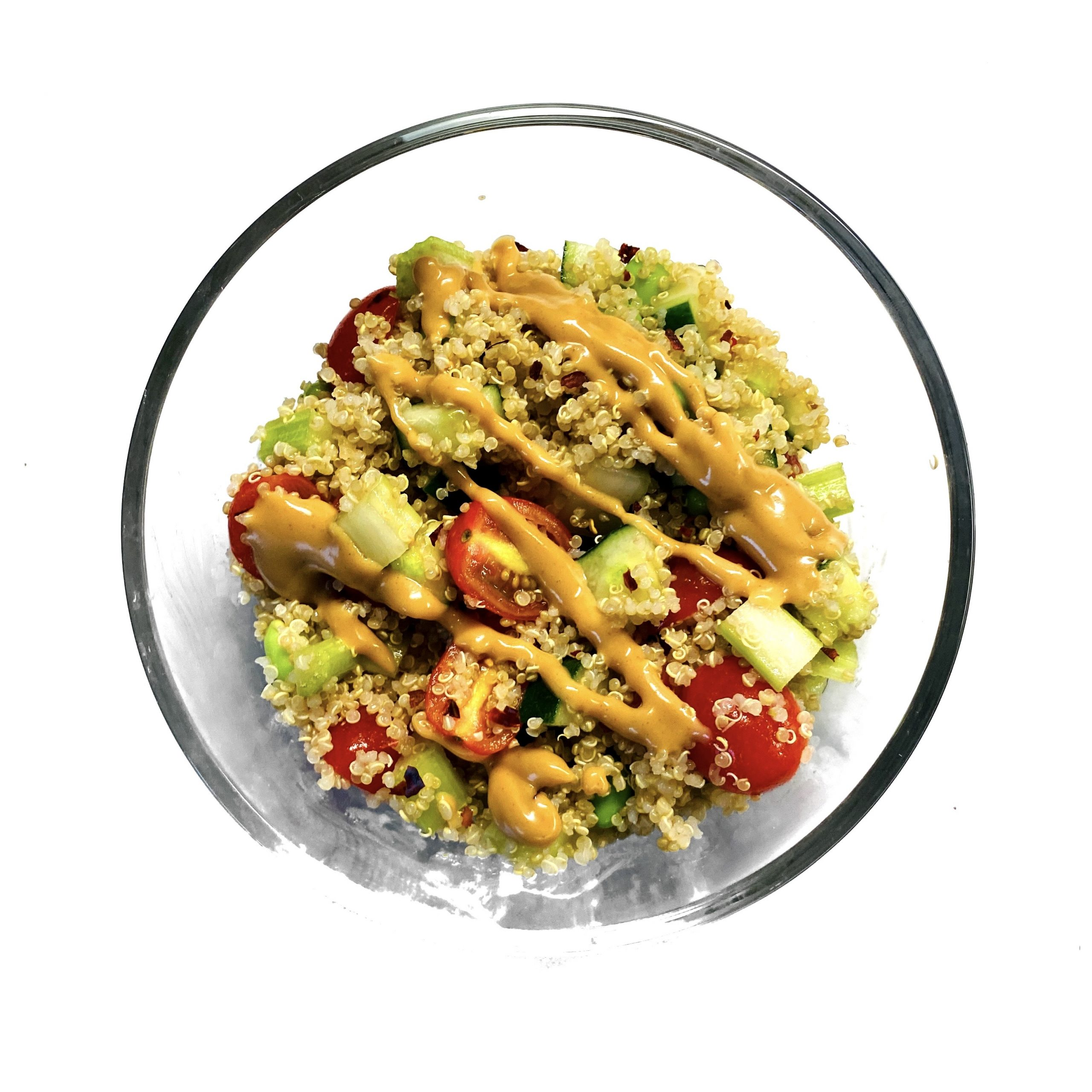 Easy Veggie, and Quinoa Salad
