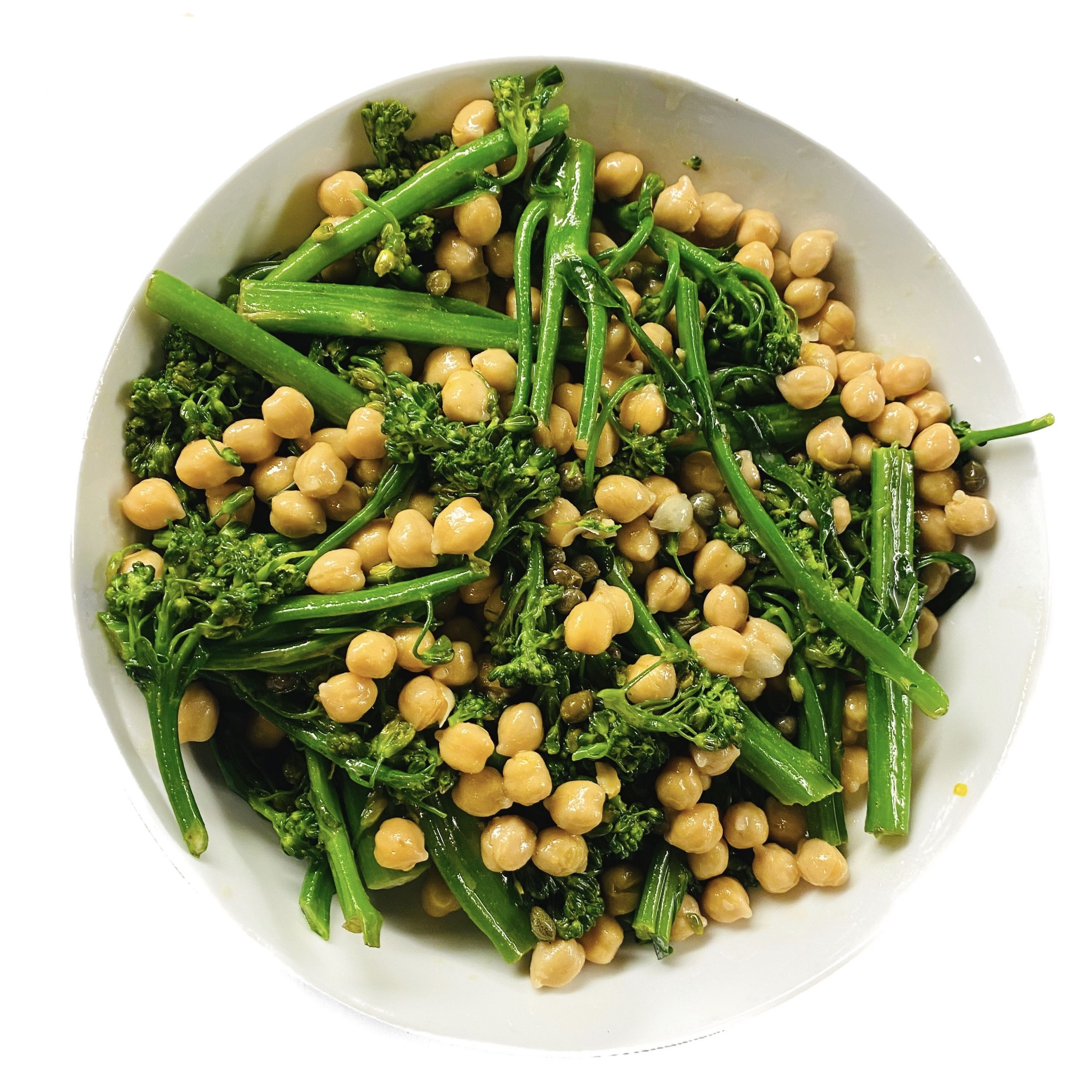 Broccolini Chickpea Salad
