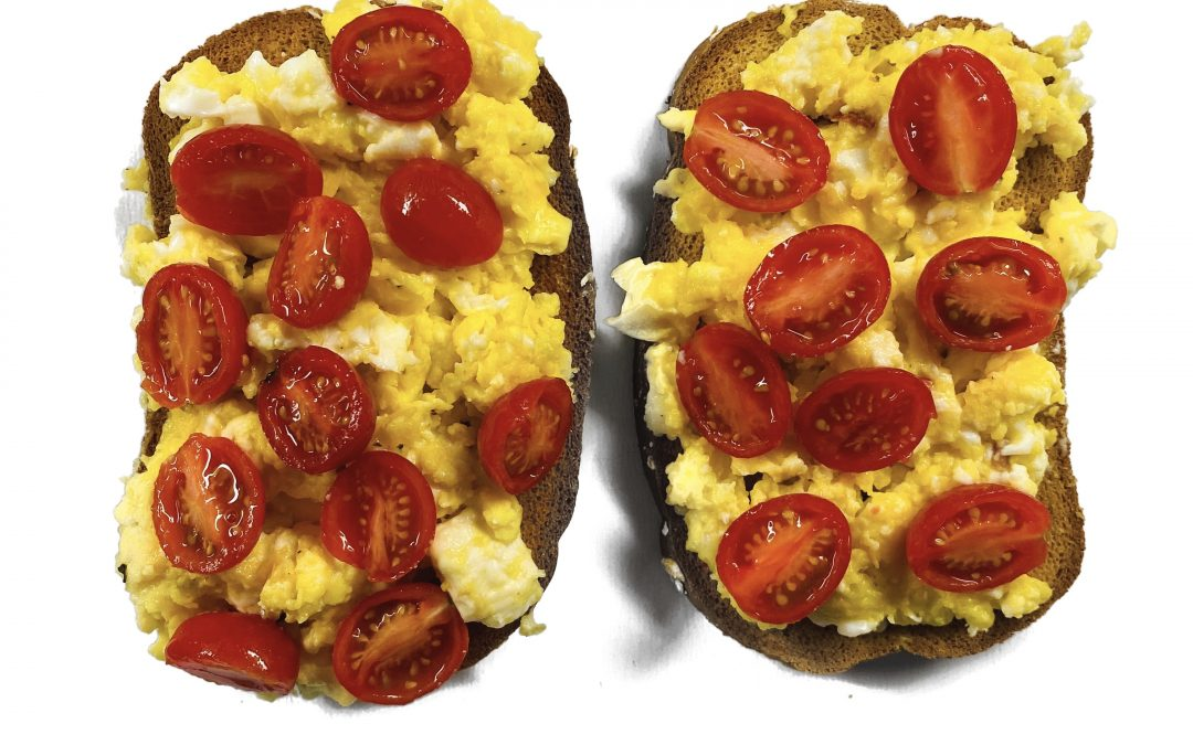 Egg and Tomato Toast