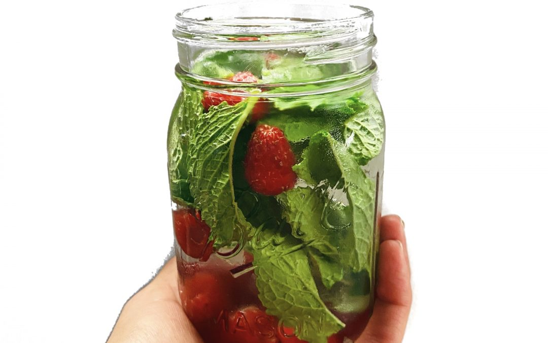 Adding fruit and/or herbs To Your Water