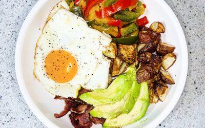 Trader Joe's Turkey Bacon Breakfast Bowl