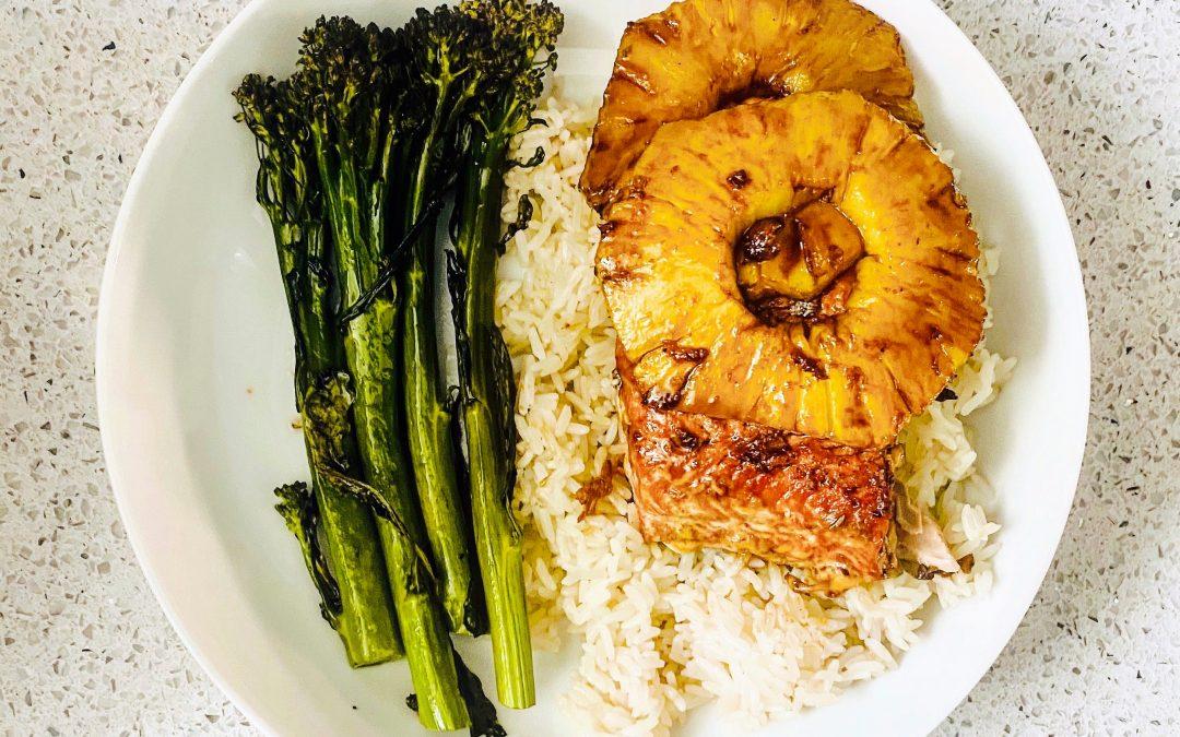Air Fryer Teriyaki Salmon