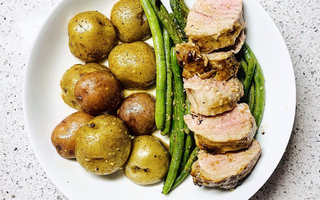 20 minute Pork Tenderloin