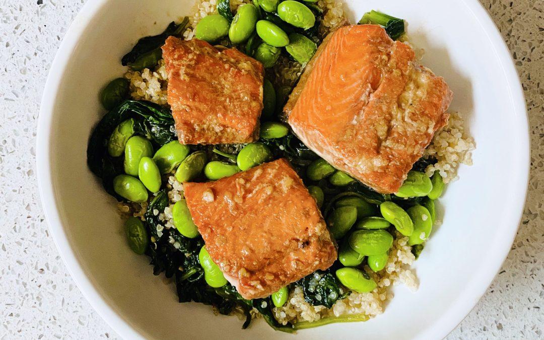 Oriental Salmon Bowl