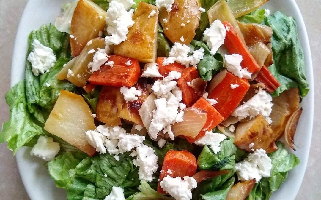 Pear and Feta Salad
