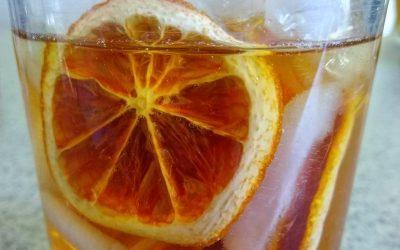 Orange-Infused Tea Cold