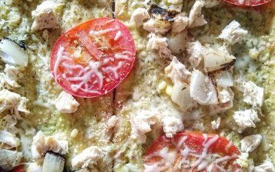 Healthy California Pizza