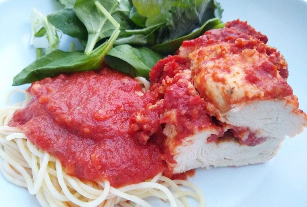 Italian Herbed Chicken Roulade
