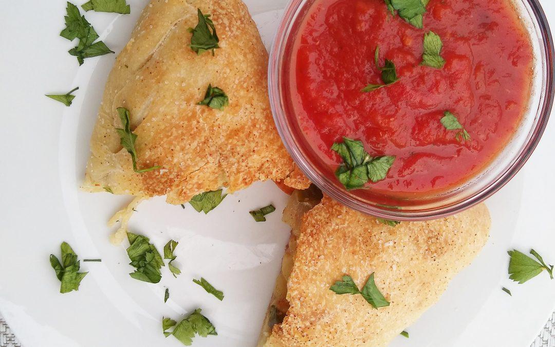 Quick Veggie-Packed Calzones