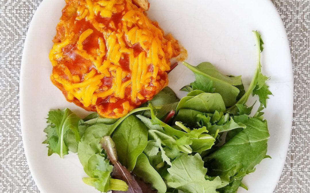 Open-Faced Enchiladas