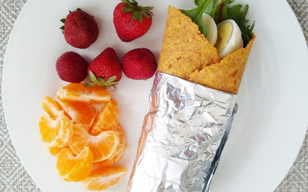 On-the-Go Protein Wrap